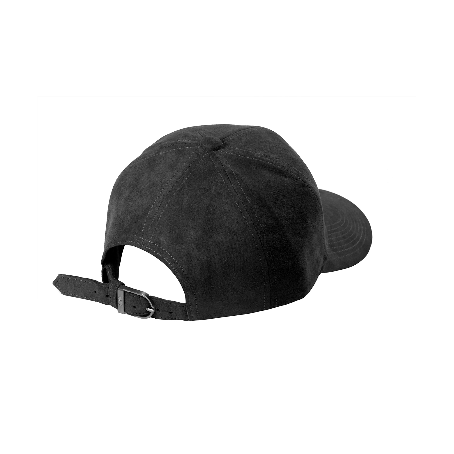BASEBALL CAP ANTHRACITE SUEDE ANTHRACITE FROZEN GREY SIDE