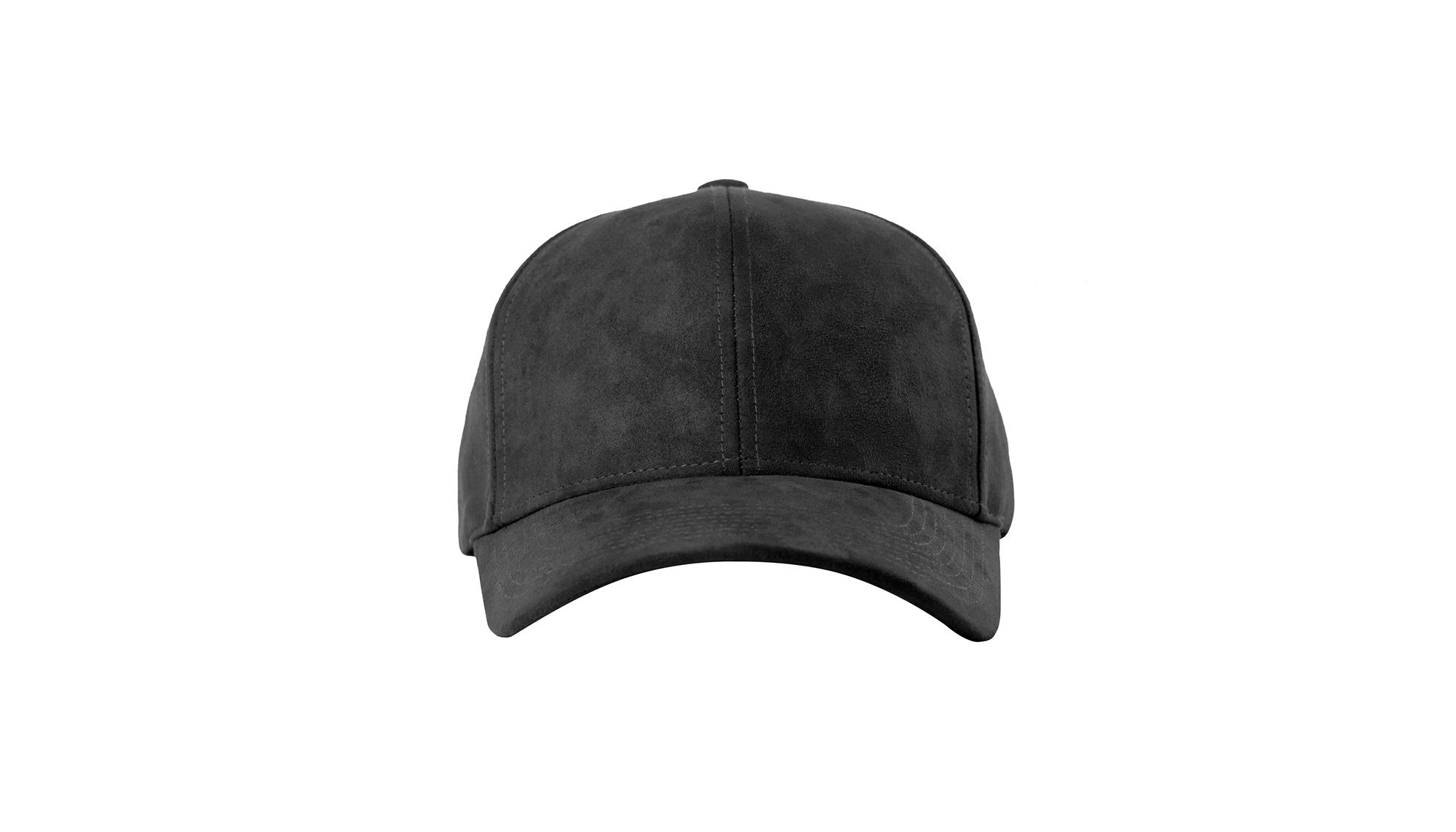 DSLINE BASEBALL CAP ANTHRACITE SUEDE   FROZEN GREY - DSLINE BASICS a9de19040f8