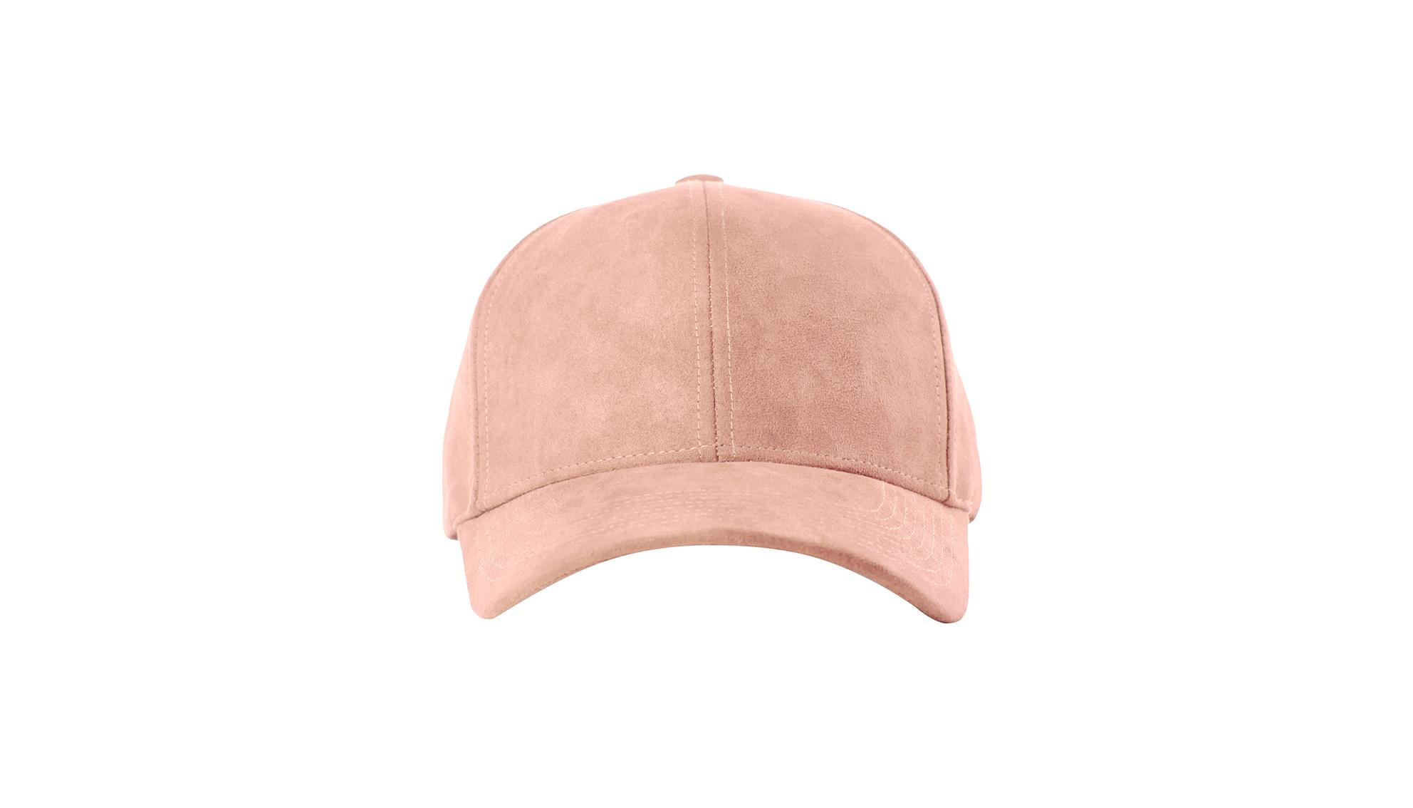 9c0533b6ac7 DSLINE BASEBALL CAP CLOUD ROSE SUEDE   GOLD - DSLINE BASICS