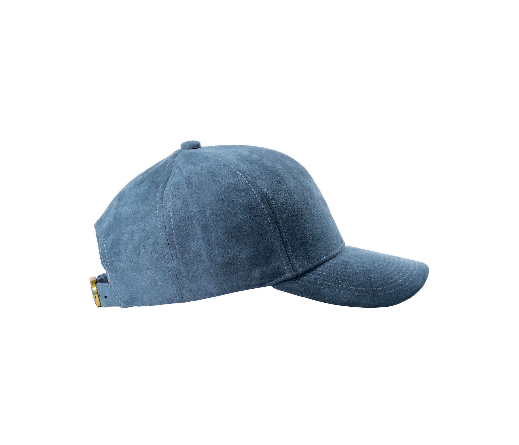 BASEBALL CAP SKY BLUE SUEDE SIDE
