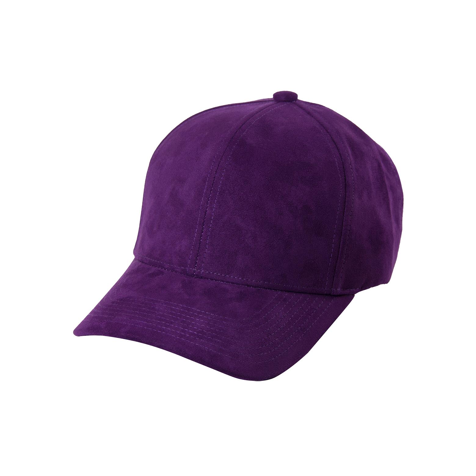 DSLINE BASEBALL CAP VIOLET SUEDE   GOLD - DSLINE BASICS d730587b7f9