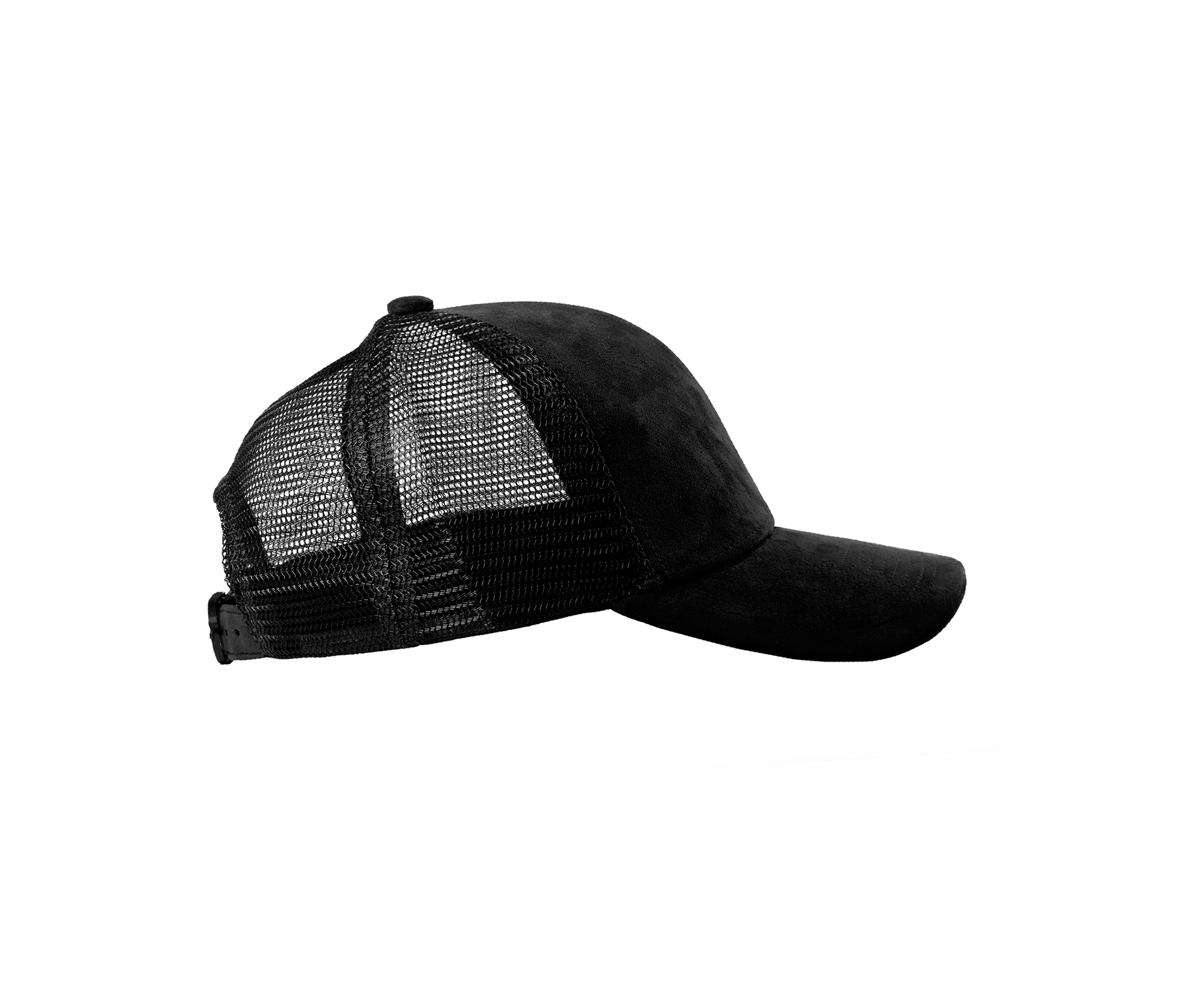 TRUCKER BLACK SUEDE BLACK SIDE
