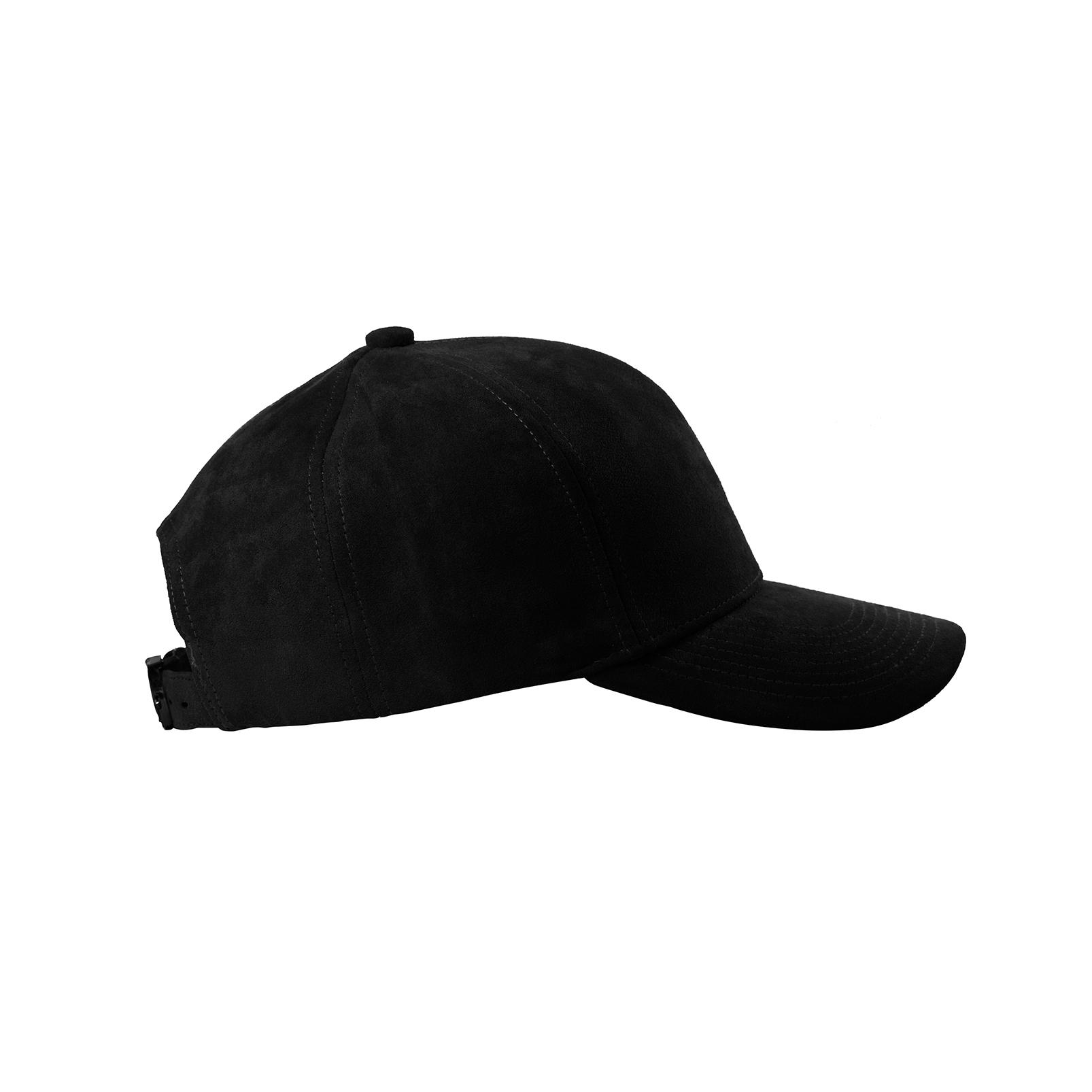 baseball-cap-black-suede-mat-black-side