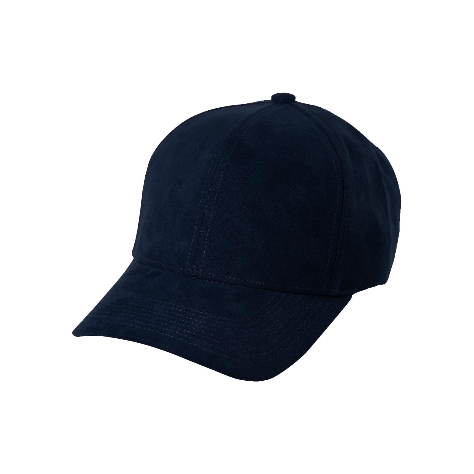 DSLINE BASEBALL CAP NAVY BLUE SUEDE   GOLD - DSLINE BASICS 1216d2413be