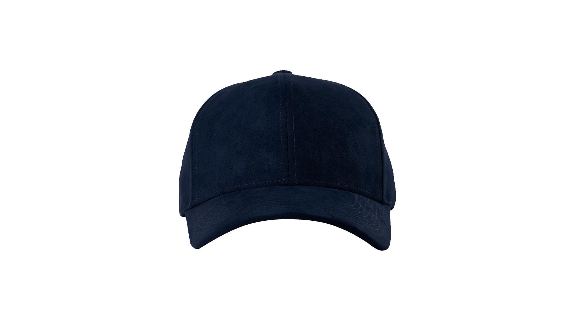 e2a763c7c DSLINE BASEBALL CAP NAVY BLUE SUEDE / GOLD